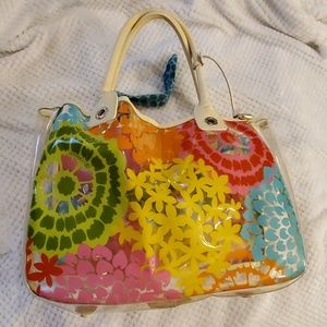 Brighton clear large tote